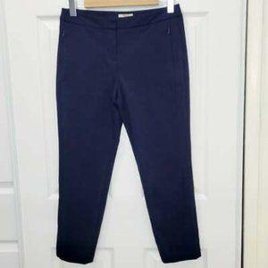 FINITY Women Cropped Trouser Dress Pant Blue Sz 6